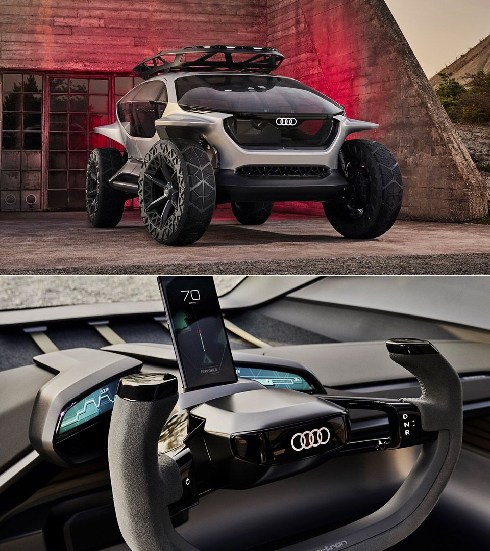 Futuristic Audi AI:TRAIL Is An Electric Off-road Vehicle