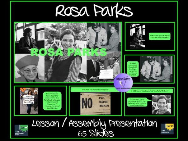 rosa parks presentation ideal for international women s day