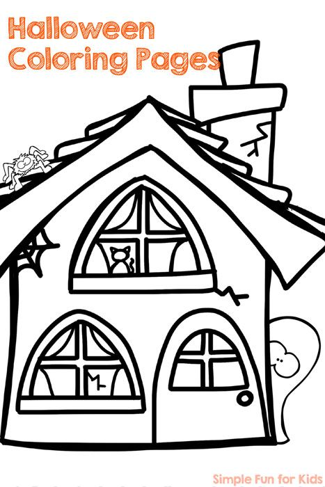Halloween Coloring Pages - Simple Fun For Kids Halloween Coloring Sheets,  Free Halloween Coloring Pages, Halloween Coloring