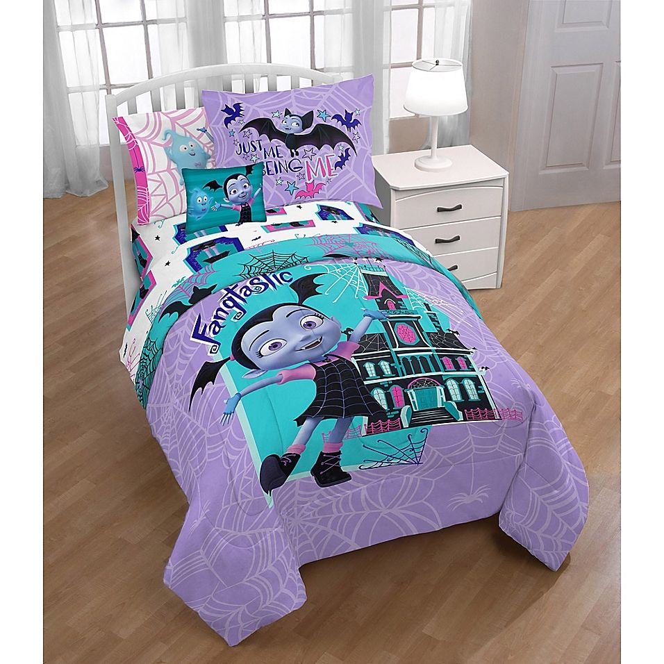 Disney Vampirina 3 Piece Twin Full Comforter Set Kids Bedding Sets Full Comforter Sets Comforter Sets