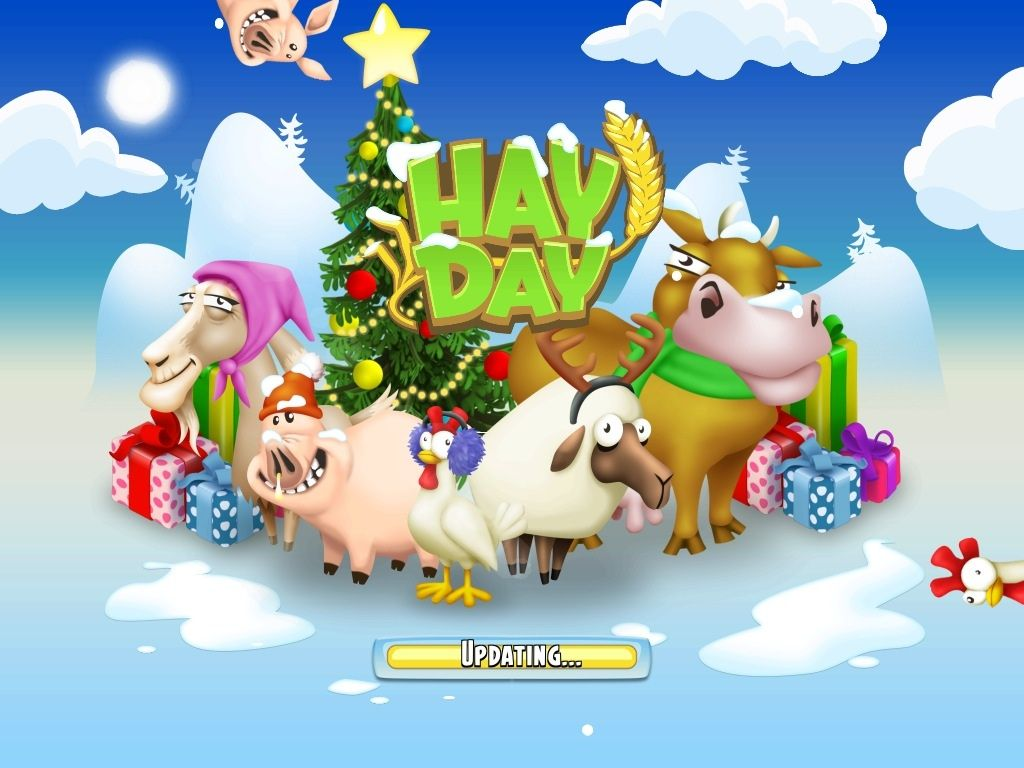 Hay Day Winter Theme Holiday Update Is Here News Bubblews