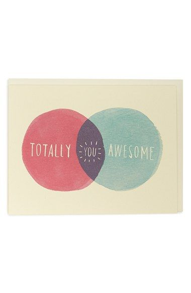 Idlewild Co Venn Diagram Note Card Cards To Make Pinterest