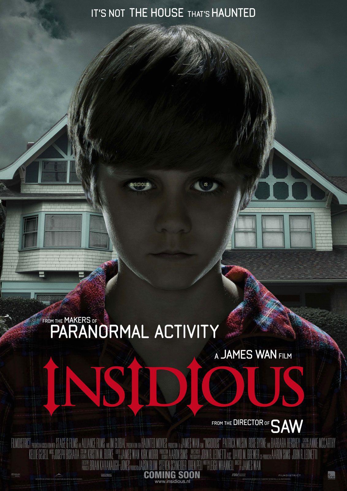 Resultat d'imatges de insidious 1