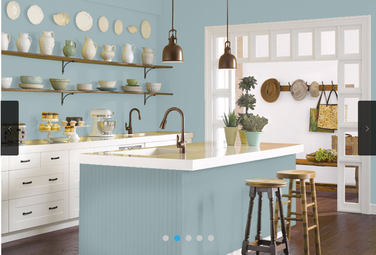 Sherwin Williams Interesting Aqua For The Kitchen Aqua Kitchen Kitchen Wall Colors Painted Kitchen Cabinets Colors