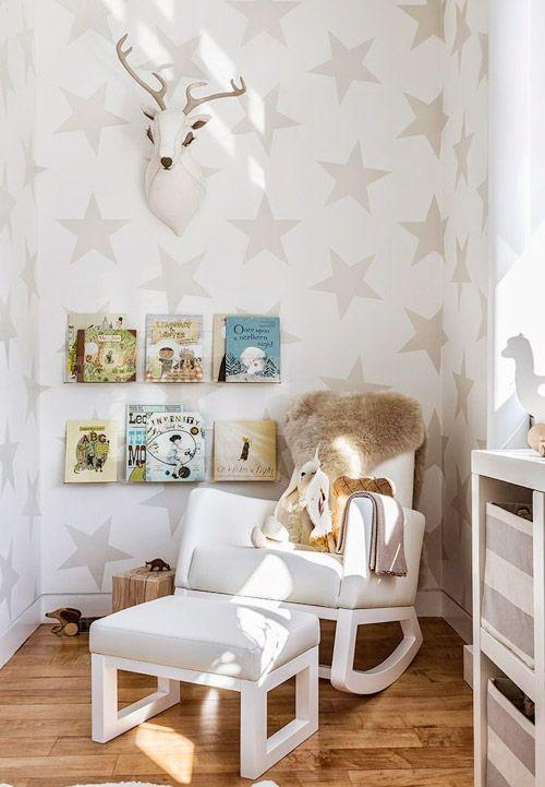 Decoraci n infantil con estrellas nails habitaciones for Cuartos decorados con estrellas