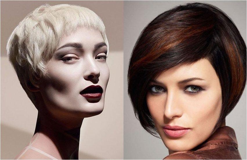 Neue Frisuren Für Kurze Haare 2018 2019 Haarfarbe Trends Trend
