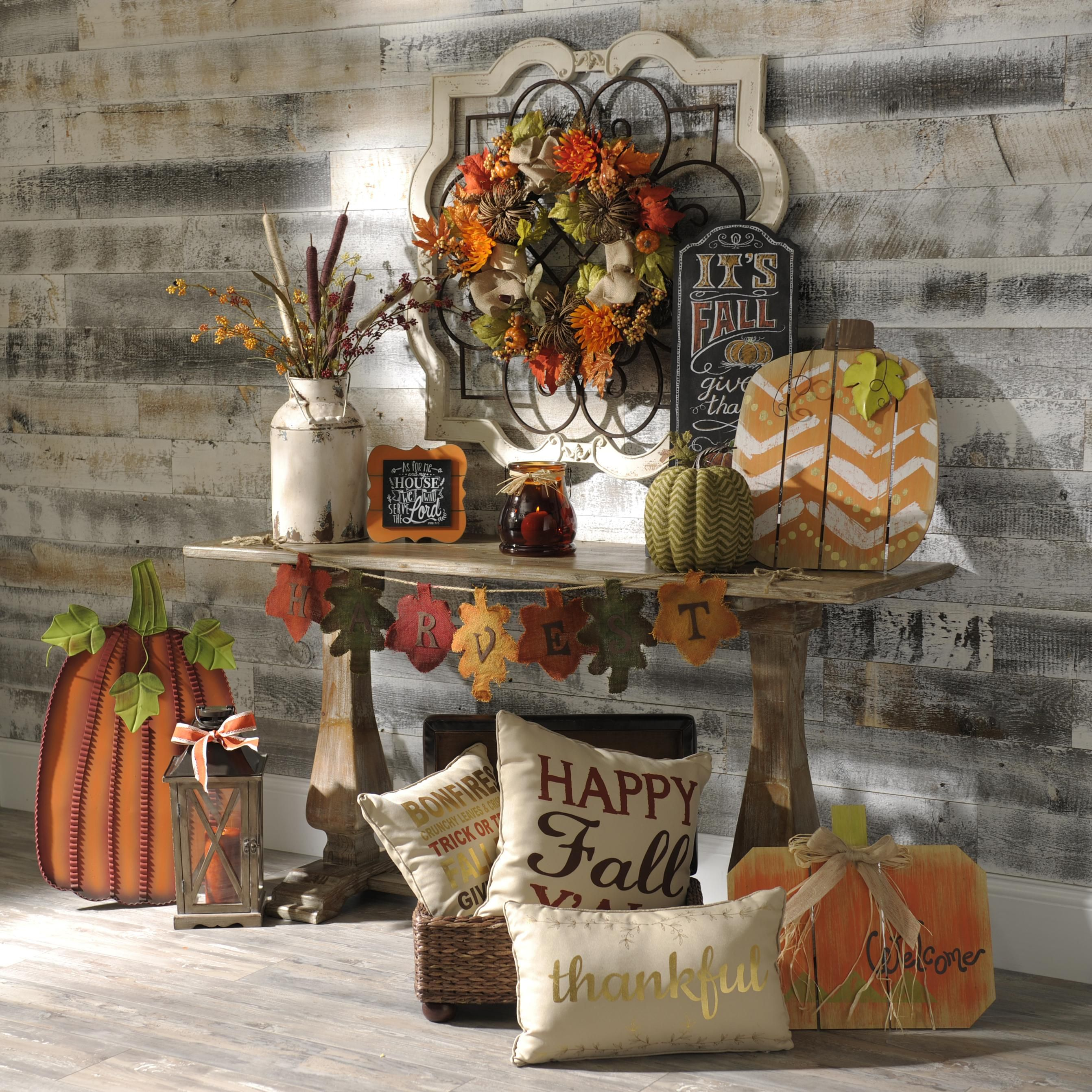 What Kind Of Fall Decor Do You Like? Wreaths, Pillows