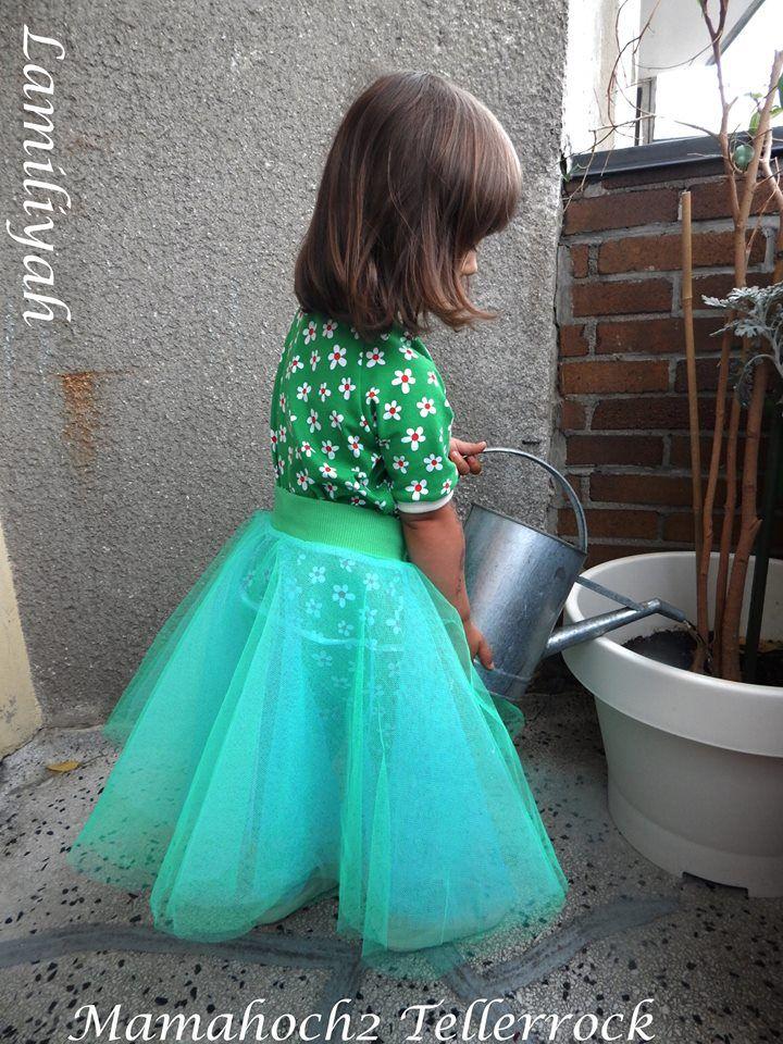 lamiliyah tellerrock | Nähen für Kinder & Teens | Pinterest | Tutu