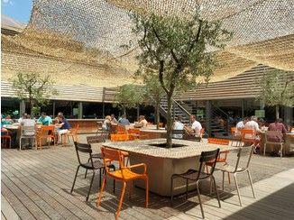 Mesa de jardim / floreira Garden table - IMAGE'IN by Création CJCJ