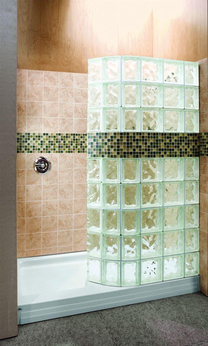 mettons des briques de verre dans la salle de bains - Mur De Verre Salle De Bain