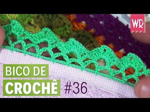 Bico De Croche Passo A Passo 45 Modelos Graficos E Videos