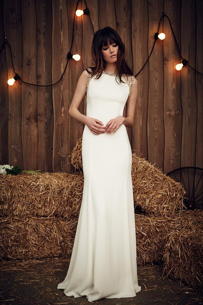 031d25f18a On the hunt for a simple wedding dress  How stunning is the Cora  It s  simple