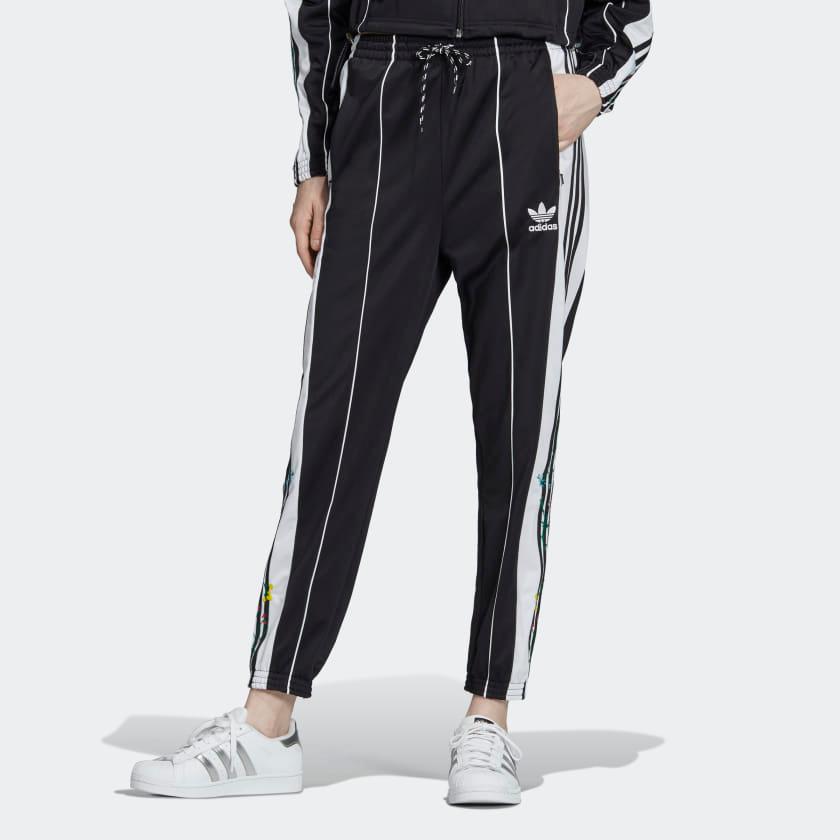 Adidas Floral Pants Womens