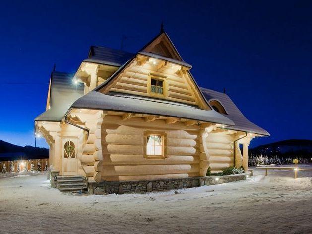 Larger Log Houses   сумки своими руками   Pinterest   Logs, House ...
