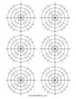 Polar Graph Paper   Math Teaching   Printable math worksheets, Free ...