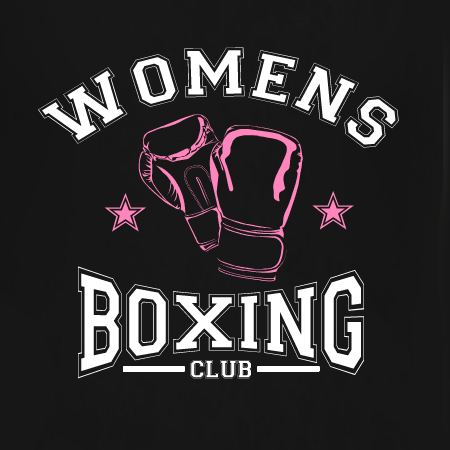 16b3e1bc Womens Boxing Club custom t-shirt template. Personalize this template or design  your own for your gym, class, or personal training business.