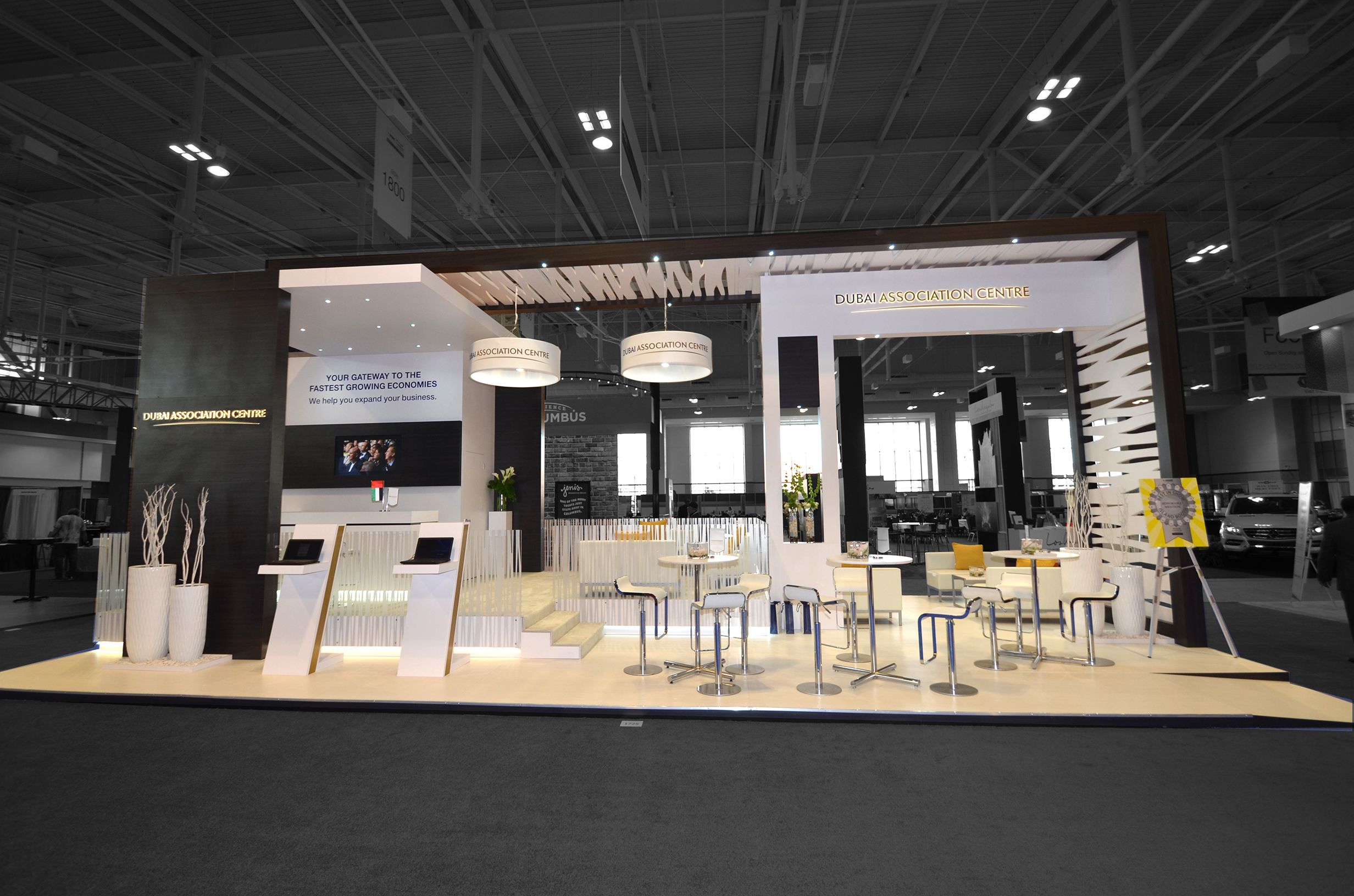 Modern Exhibition Stand By Me : Exhibit builders trade show displays booths