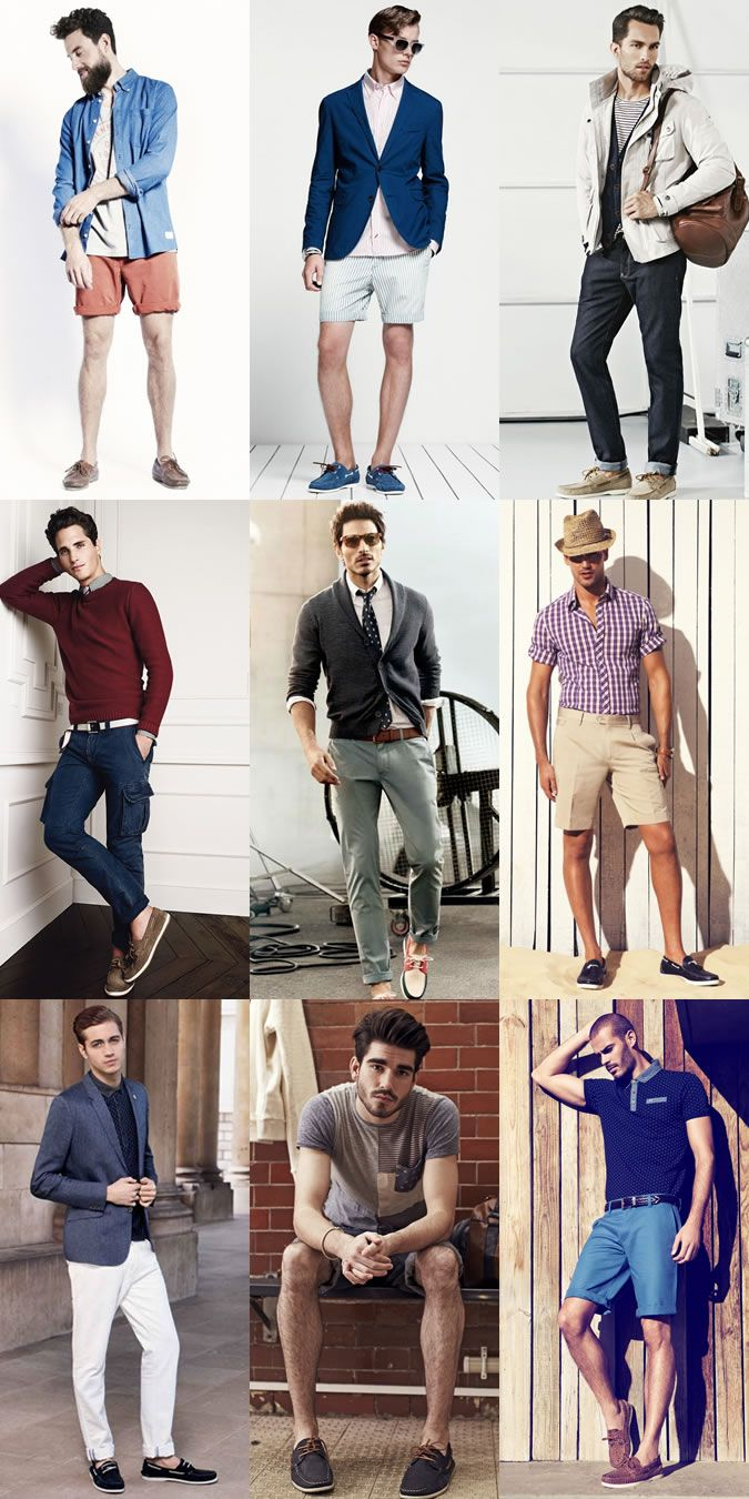 Men's Boat Shoes Outfit Inspiration   Men's Style   Pinterest ...