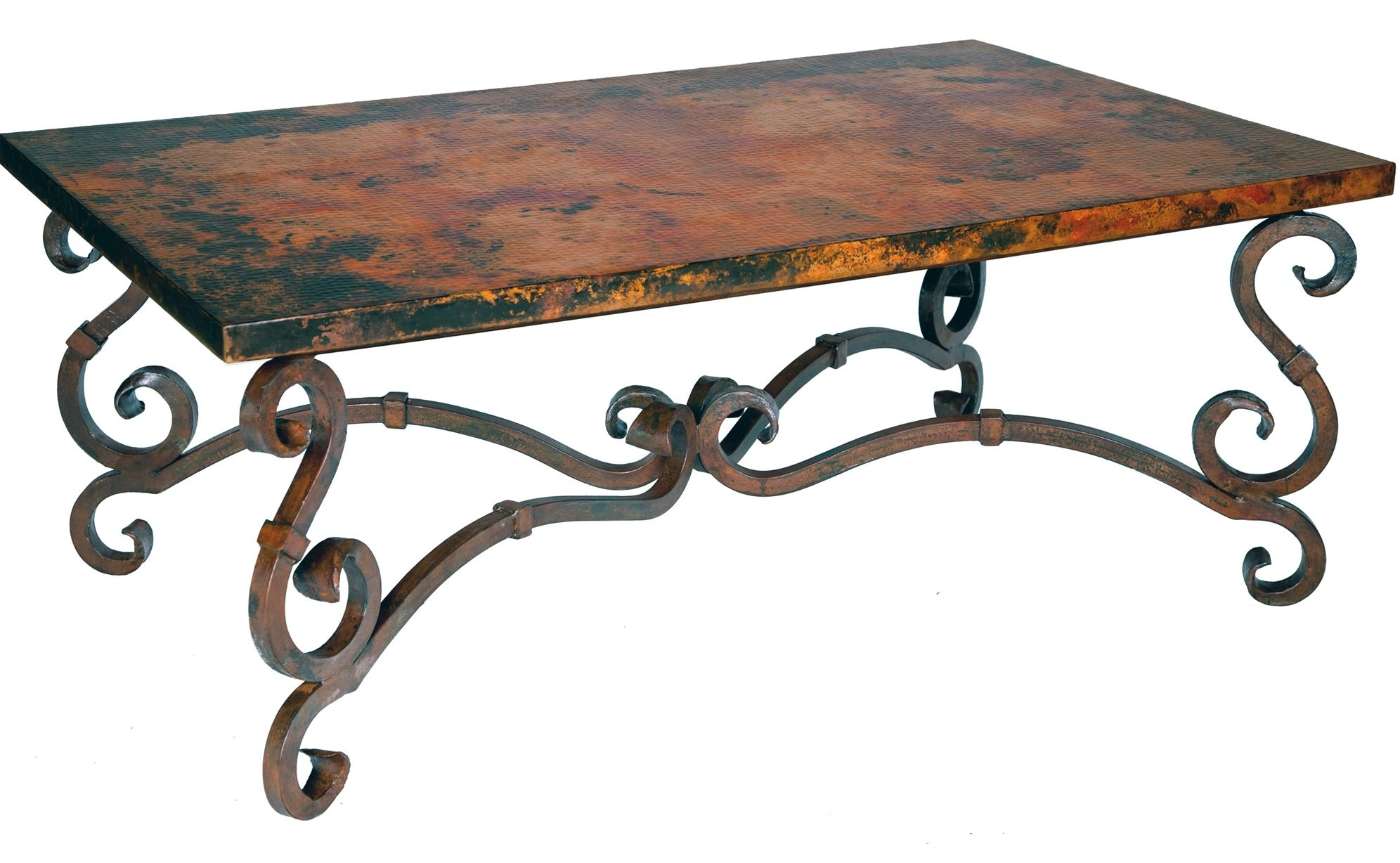Stunning Copper Wrought Iron Furniture By Prima Wrought Iron