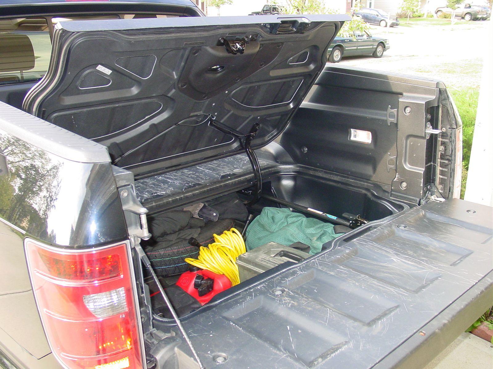 Hidden Truck Storage Truck Storage Cars Organization Cars Trucks