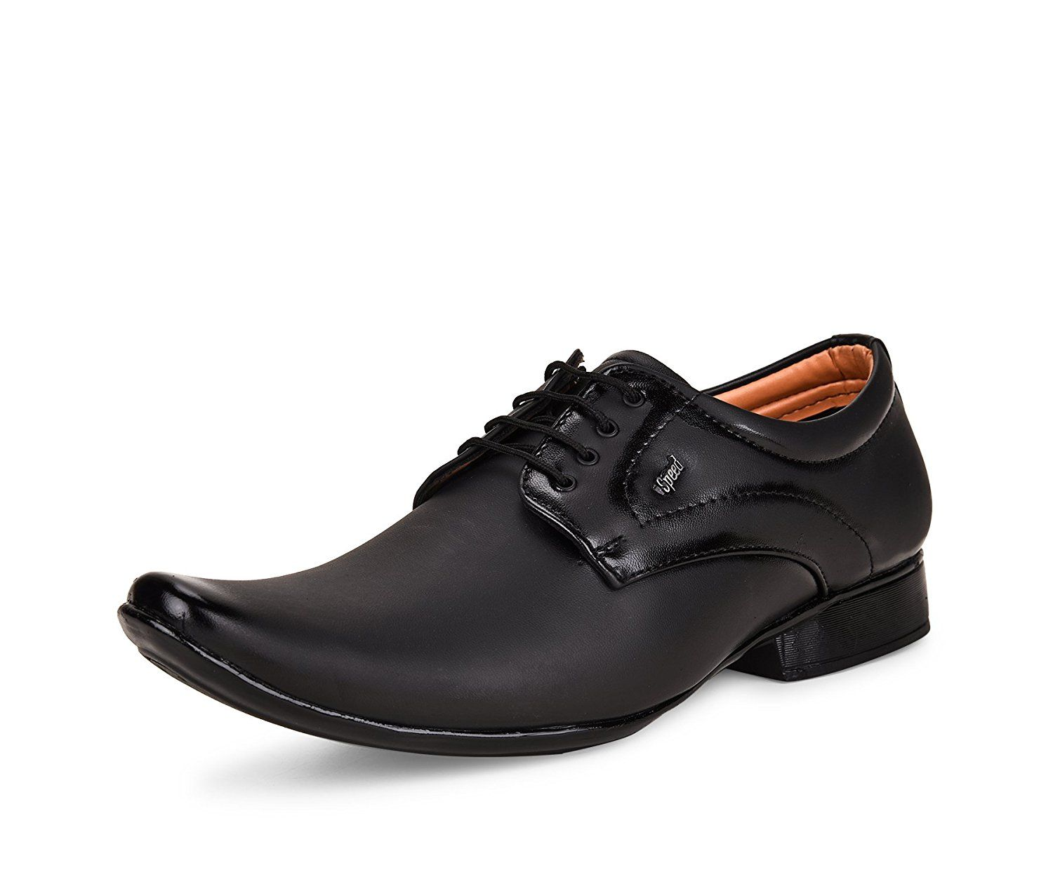 Essence Men's Black Formal Synthetic Lace-Up Shoes: Buy Online at Low  Prices in India - Amazon.in