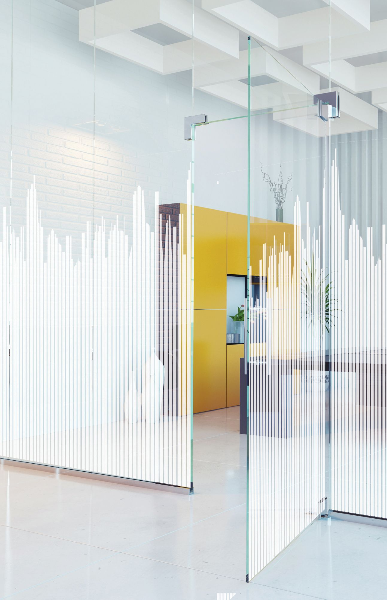 Pin by sandrine pierrot on office idea design pinterest glass partition window film and glass - Fenetre baie window ...