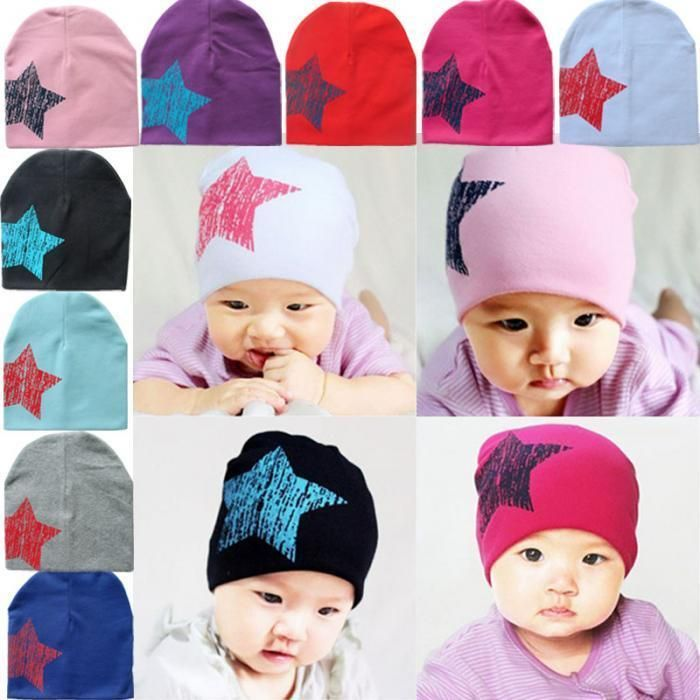 1.12 - Winter Spring Baby Cotton Hat Caps Knitted Beanies Toddler  Infantborn Caps  ebay  Fashion 293137626f9c