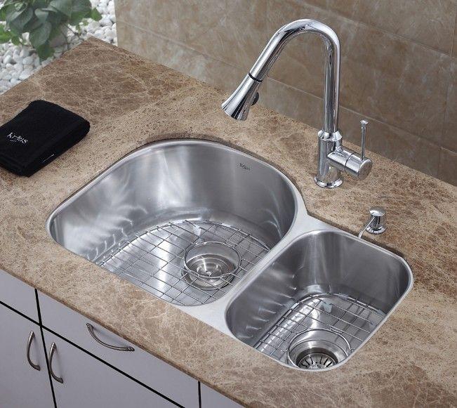 Under Mount Stainless Steel Kitchen Sink for Modern Look Kitchen ...