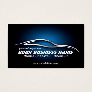 Auto automotive used cards car dealer mechanic business card a professional automotive business card template perfect for a car mechanic used cars store reheart Image collections