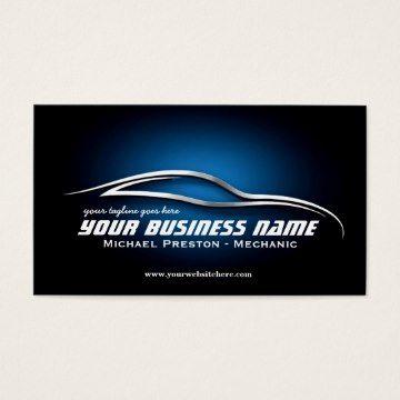 automotive business cards