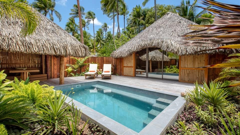 Garden Villa With Pool Bora Bora Pearl Beach Resort Spa In 2020 Garden Pool Garden Pool Design Pearl Beach Resort