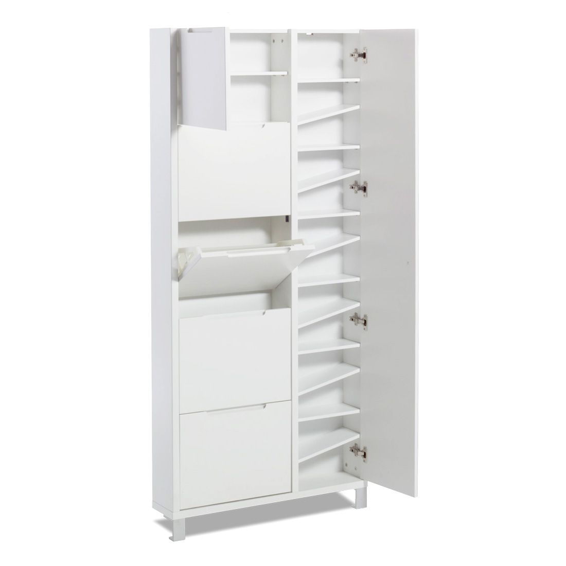 Superieur Slim Shoe Cabinet For Small Entryways
