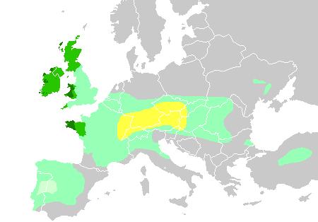 Die Ausbreitung der Kelten, keltische Nationen heute