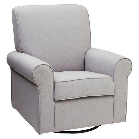 Delta Children Avery Nursery Glider Swivel Rocker Chair U2013 Grey : Target