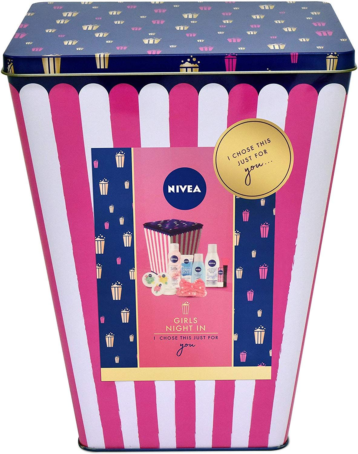 Nivea Gift Set Girls Night In Gift Pack For Her With 7 Items