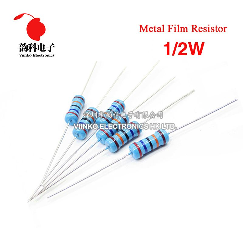 // R/ésistances carbone 220 Ohms 1//4 Watts 200 5/%