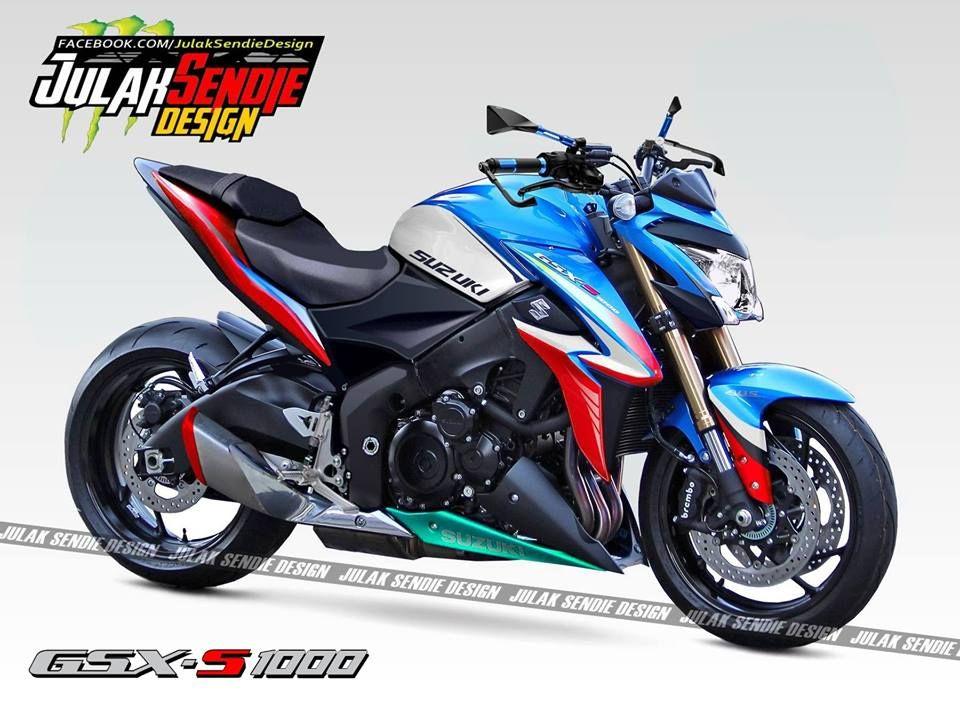 Suzuki GSX-S 1000 / Julak Sendie Design