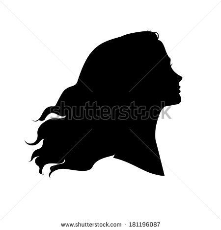 Woman Silhouette Head Silhouette Drawing Girl Silhouette Silhouette Head