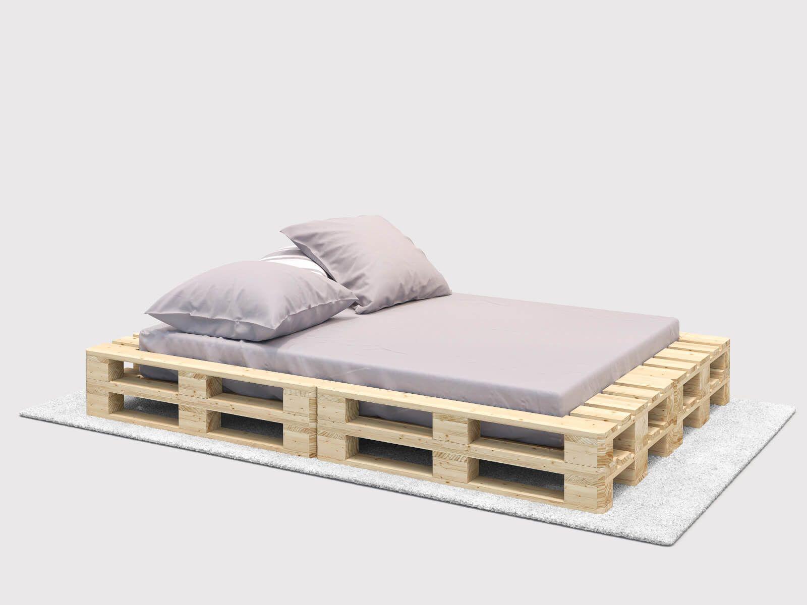 Das Bett Single ist simple und schlicht, bietet aber den perfekten ...