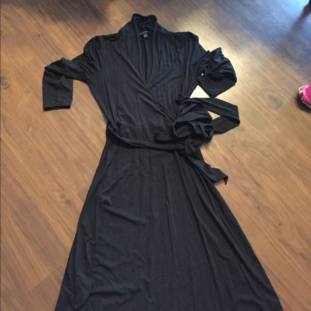 Black wrap dress products