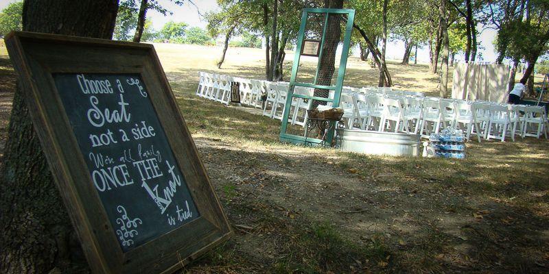 Tippie-Brewer Wedding at our Wells Bridge ceremony location