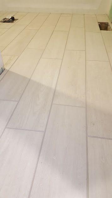 eldon white wood look porcelain tile