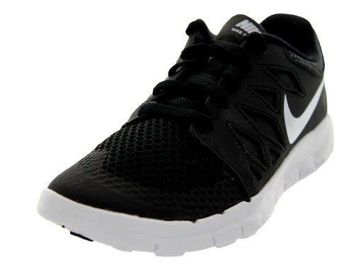 Nike Kids Free 5 (PS) Black/White/Anthracite Running Shoe 13 Kids