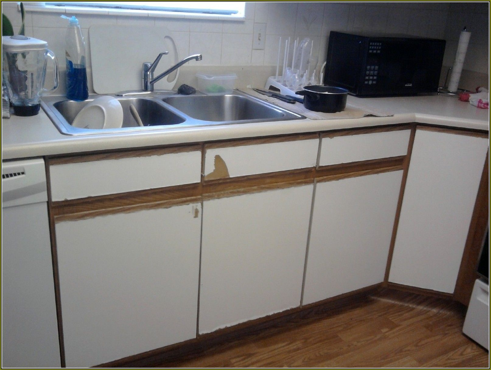 Thermofoil Kitchen Cabinets Peeling   Thermofoil kitchen ...