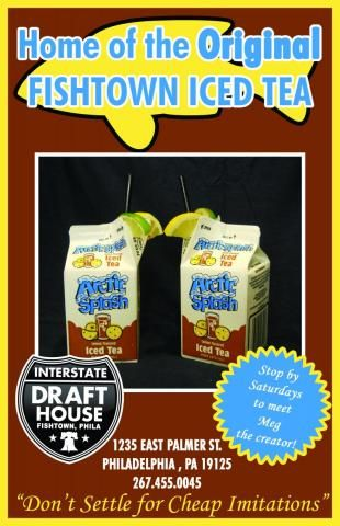 The Original Fishtown Iced Tea Iced Tea Pops Cereal Box Philly