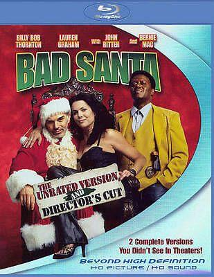 Bad Santa (Blu-ray Disc, 2011, Directors Cut Unrated)