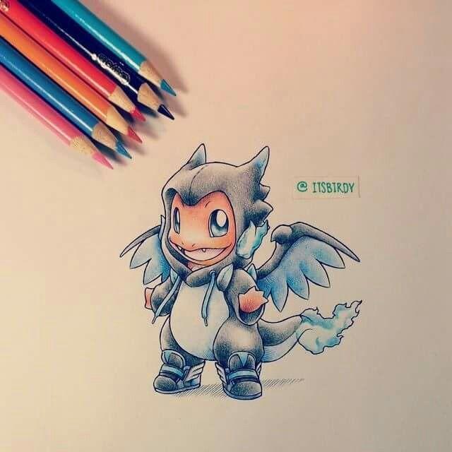 Cute Colored Pencil Drawing Pokemon Pinterest Pokemon Cute