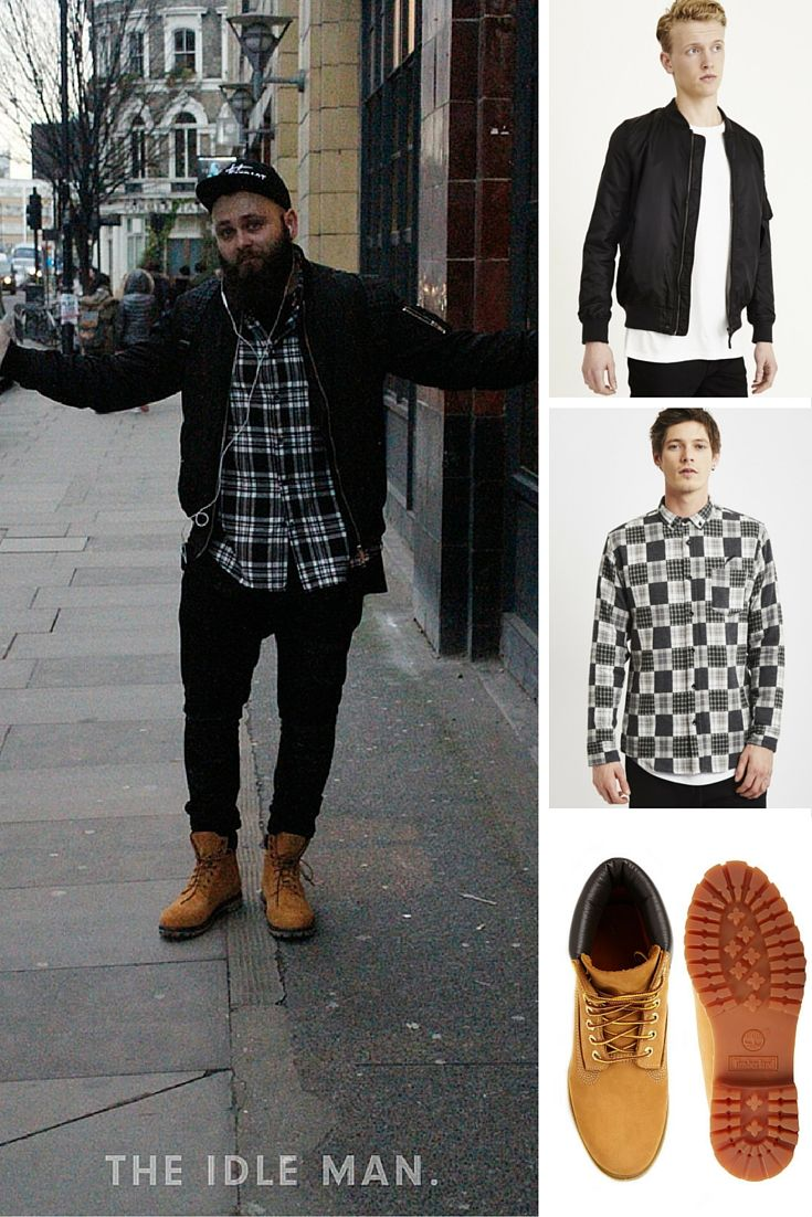 075a0a0842374 How to style a bomber jacket with Timberland boots | For a smart casual  look,