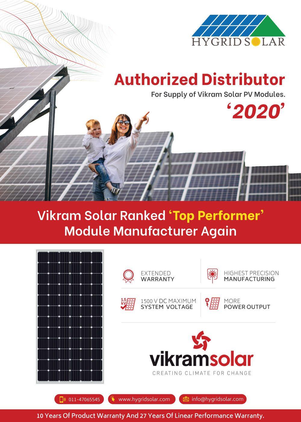 Vikram Solar Pv Modules In 2020 Solar Solutions Solar Solar Pv