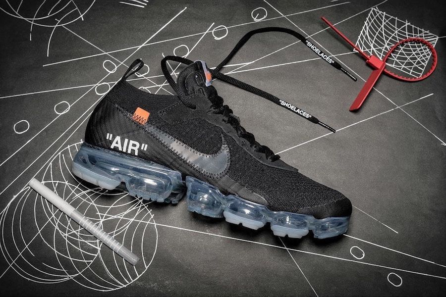 This Off White x Nike Air VaporMax Black Will Debut Next